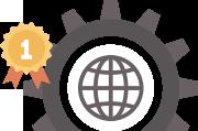 digital marketing infographic icon